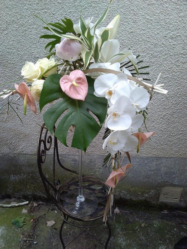 Vase martini pour buffet