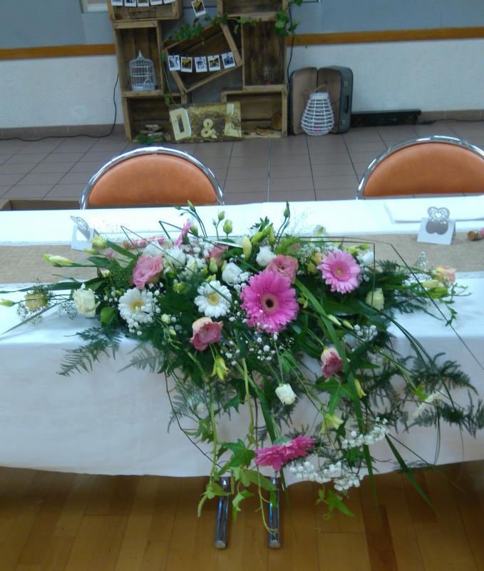 Décors table de mariés